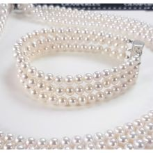 Bracelet 3 rangées de perle