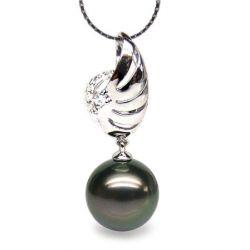 Pendentif Symbole Liberté Aile, Perle de Tahiti