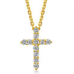 Croce di diamanti