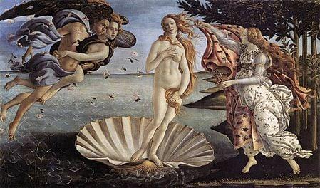 Déesse de l'amour, Vénus