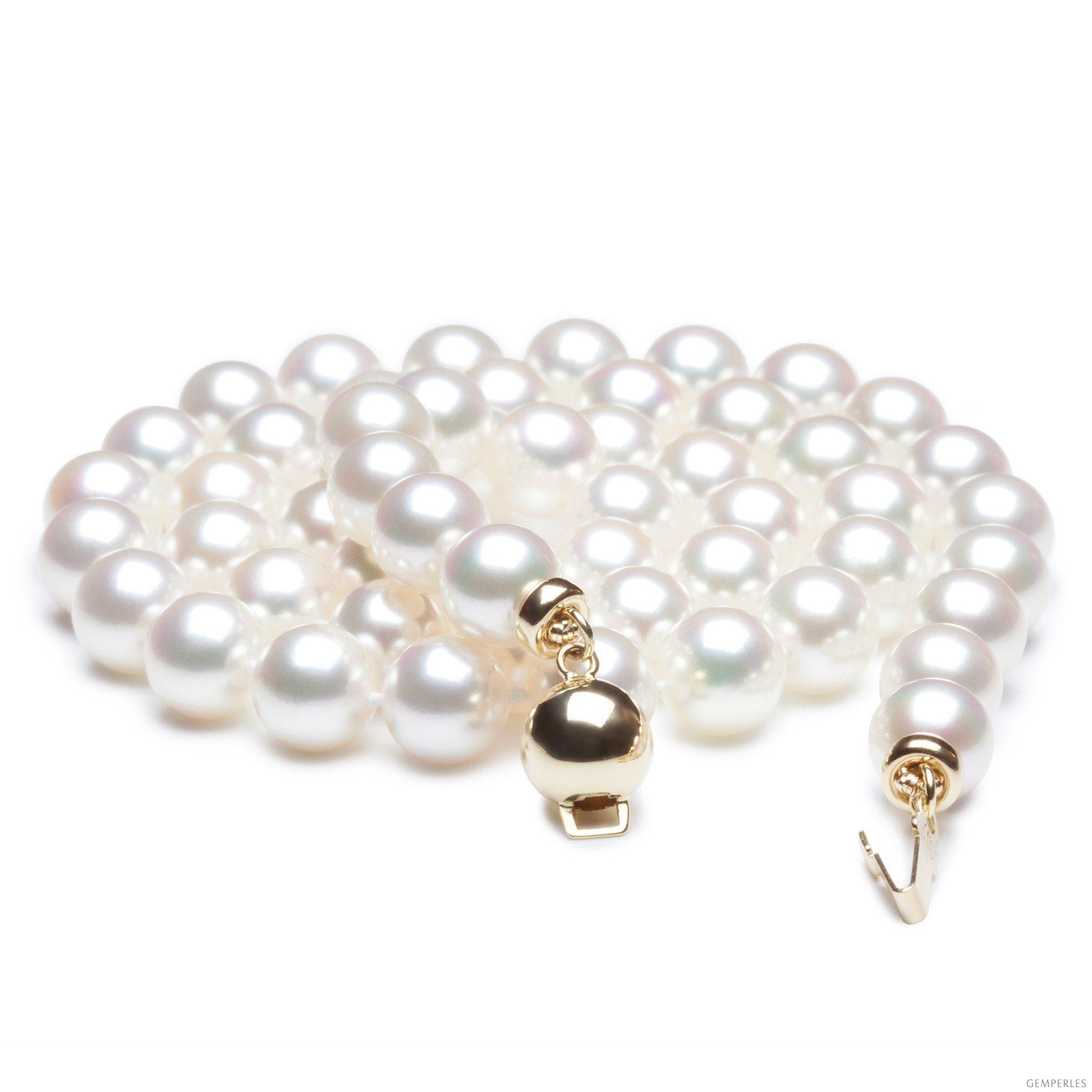 reconnaitre un vrai collier de perle
